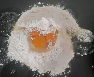 oeufs pâtes