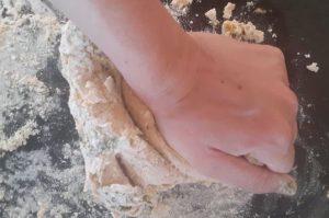 pétrissage pâte