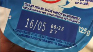yaourt industriel