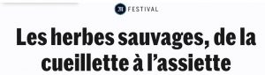 article herbes sauvages